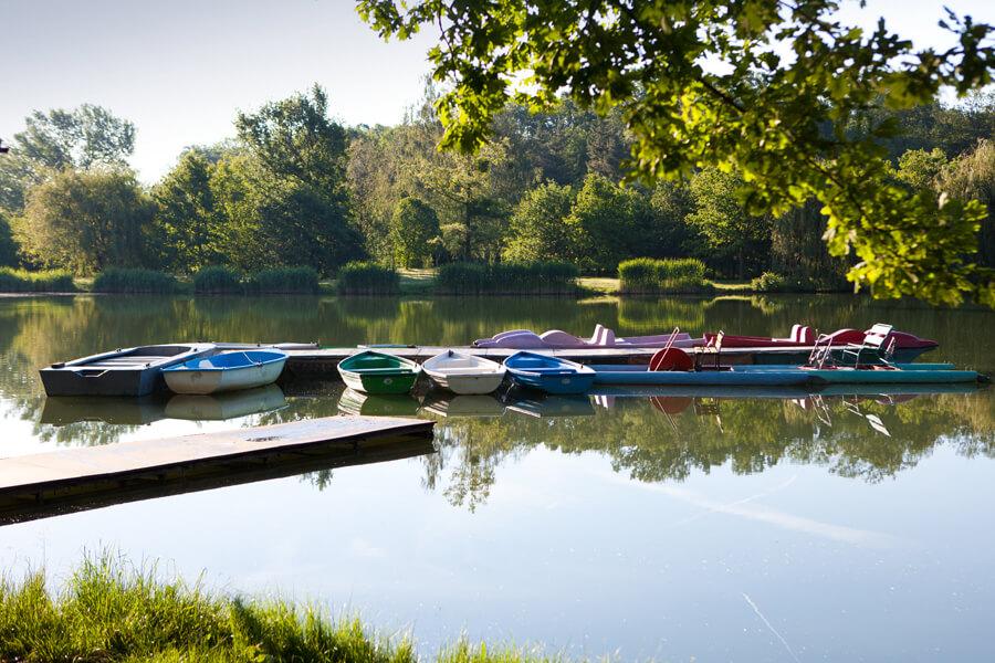 Sarvar Csónakázó tó