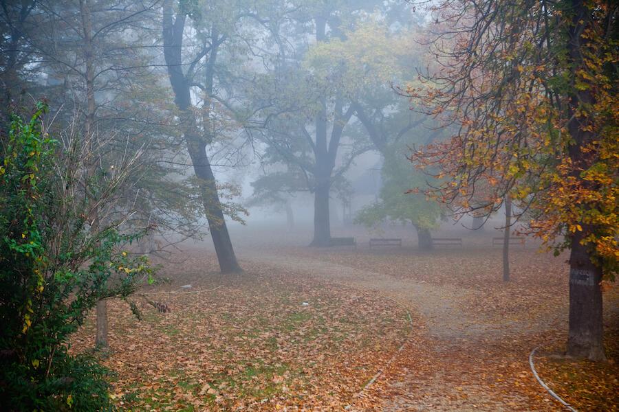 Sárvár ősszel