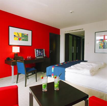 Park Inn szobák