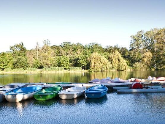 Csónakázó tó Sárvár